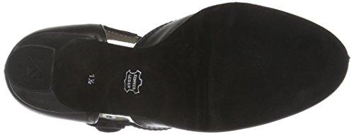Diamond Ladies Dance Shoes 053-006-034 Standard E Latino Nero (nero)