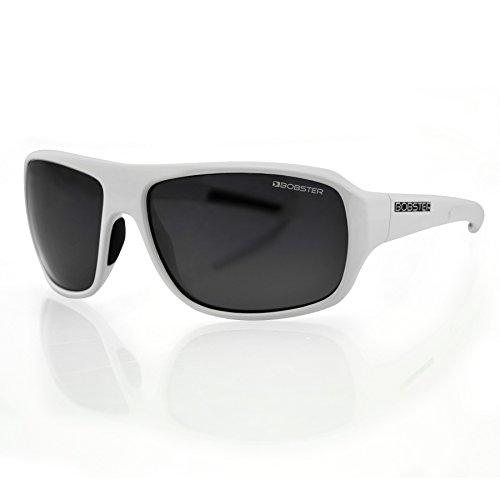 Bobster Informant EINF002AR Square Sunglasses,White Frame/Smoked - Sunglasses White All