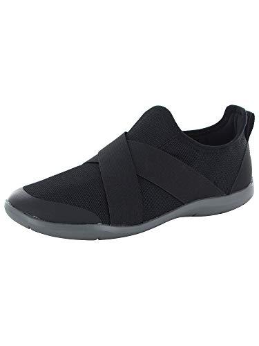 (Crocs Womens Swiftwater Cross-Strap Static Shoes, Black, US)