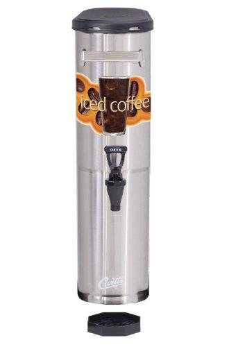 Wilbur Curtis Iced Coffee Dispenser 3.5 Gallon Narrow Iced Coffee Dispenser - Designed to Preserve Flavor - TCNC (Each) by Wilbur Curtis