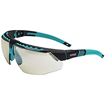 Uvex by Honeywell Avatar Safety Glasses, Teal Frame with