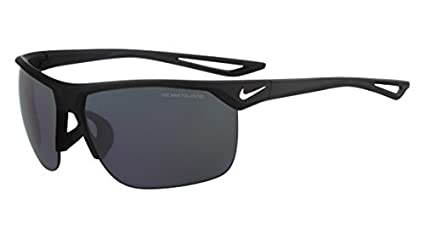 d7eb63a877ab Nike Golf Trainer P Sunglasses, Matte Black/Silver Frame, Polarized Grey  Lens