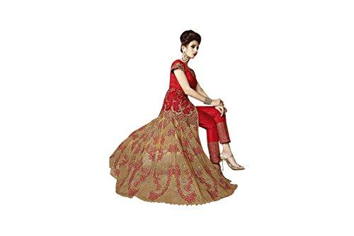 Personalizzato misura donne abito etnico anarkali da Deisgner ragazza vestito culturale musulmane tradizionale partywear 545 su sposa salwar Ta5n4wx6