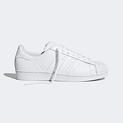 Adidas superstar all white shoes for Unisex