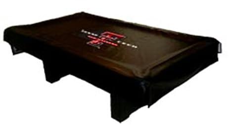 Amazoncom Texas Tech Red Raiders MVP Universal Fit Billiard Table - Raiders pool table