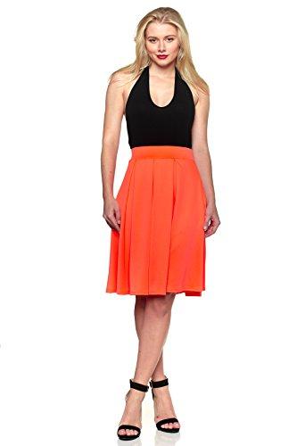 9a23130d438 Cemi Ceri J2 Love Made in USA Pleated A Line Midi Skirt (XS-5X ...