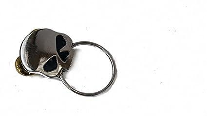 Chrom Augen Daywalker Bikestuff Biker PIN Brillenhalter Chopper Rocker Bobber USA Half Skull