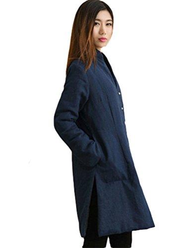 MatchLife - Abrigo - para mujer azul marino