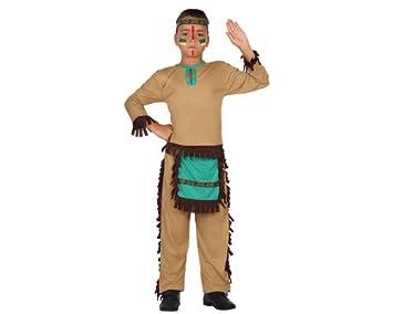 Atosa-23773 Disfraz Indio, color marrón, 3 a 4 años (23773 ...