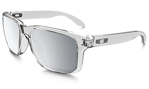 Oakley Holbrook Clear / Polarized Chrome Iridium by Oakley