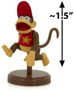"Diddy Kong ~1.5"" Mini Figure [Super Mario Choco Egg Mini-Figure Selection Series - NO CANDY] (Japanese Import)"