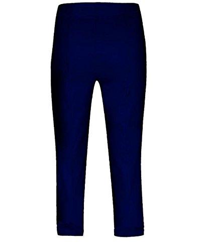 Robell Marie 07- Pantalones elásticos, corte slim, para mujer, color capri jeansblau(68)