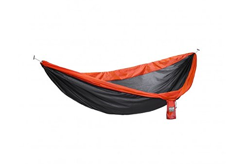 - ENO - Eagles Nest Outfitters SuperSub Hammock, Charcoal/Orange