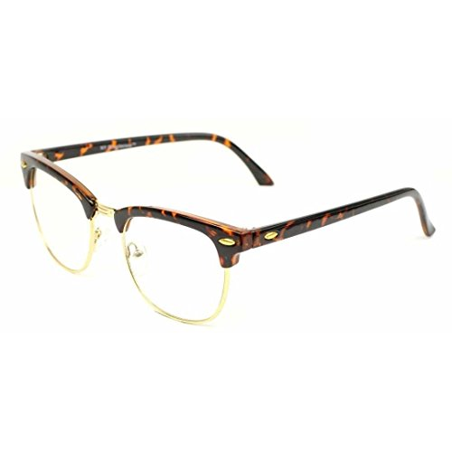 Jgny - Horn Rimmed Clear Lens Glasses Malcolm X - X Glasses Style Malcolm
