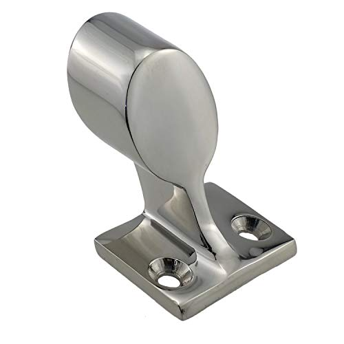 NRC&XRC 316 Stainless Steel Hand Rail Fitting, 60° End-Right HandRail Fitting for7/8inch Tube OD Marine Boat Yacht