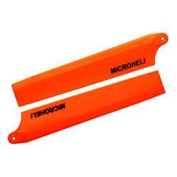 - MicroHeli MHENCPX003OR Plastic Main Blade 85mm, Orange: Blade Nano CP X