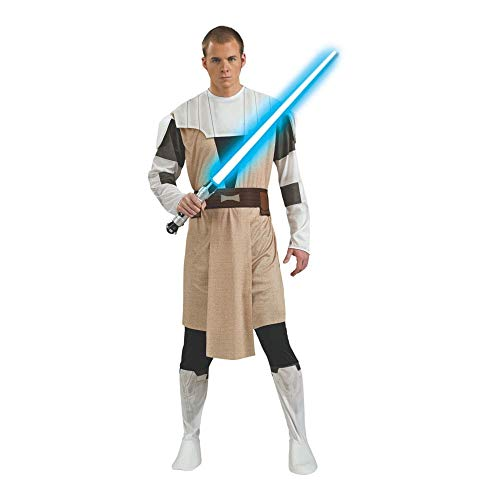 Clone Wars Obi Wan Costumes - Obi Wan Kenobi Adult Clone Wars