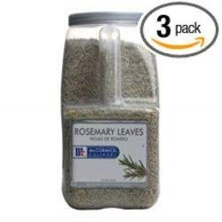 McCormick Rosemary Leaves - 2 lb. container, 3 per case