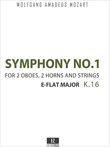 Symphony No.1 K.16 in E-Flat Major (Conductor's Score 9x12