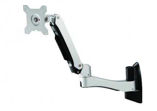 Amer Networks AMR1AWL DUAL LINK SPRING CANTILEVER ARTICULATING MONITOR WALL MOUNT. FEATURES INCLUDE TI by AMER NETWORKS