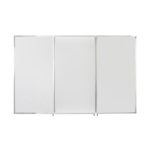 Jacuzzi PD50000 48'' Mirrored Medicine Cabinet with Adjustable Shelving, Chrome