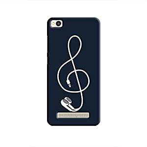 Cover It Up - Music Bud Redmi 4A Hard Case