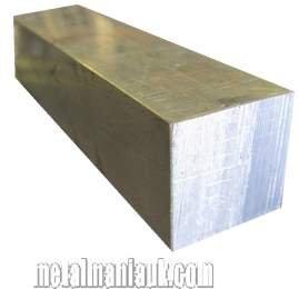 Aluminium square bar 1//2 x 1//2 x 1000mm