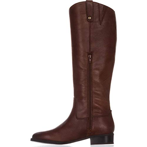 INC International Concepts Womens Fawne Leather Round Toe Knee, Cognac, Size 9.0 from INC International Concepts