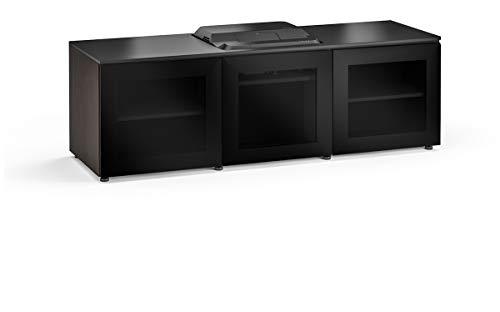 (Salamander Chameleon Oslo 237 Cabinet for Integrated Epson LS100 Projector - Black Glass UST Projector Integrated Cabinet)
