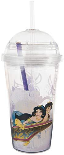 Sambro International 1 Disney Aladdin Travel Tumbler, with Stationery Set, Multi Colour