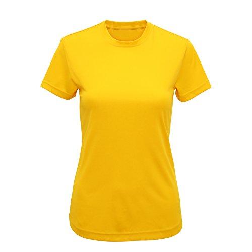 Workwear World - Camisa deportiva - para mujer Sun Yellow