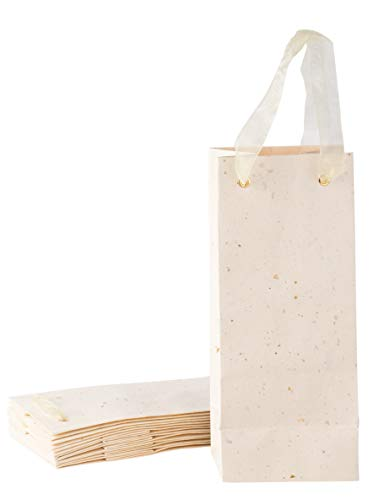 Wine Gift Bags - 8-Pack Wine Bottle Bags