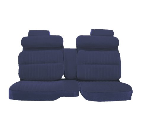 Acme U2004-R015M Front Blue Velour with Royal Blue Velour Bench Seat Upholstery