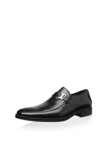 M US Dress Loafer 5 Black Magli Men's Bruno 10 1aqK80Tqw