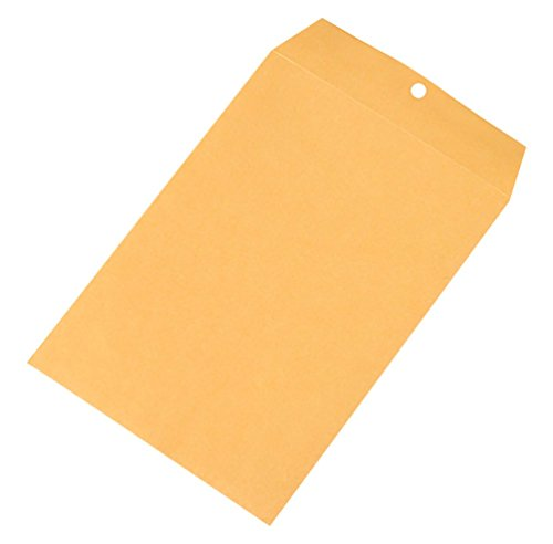 RetailSource E100701KC1 Kraft Clasp Envelopes, 10