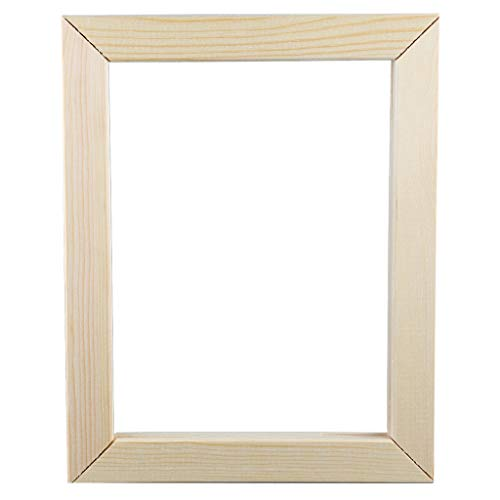 Fan-Ling Modern 5D Diamond Painting Frame,3 Size Choice Photo Picture Frame,Wooden Art Frames for Diamond Paintings,DIY Cross Stitch Embroidery Wooden Framed Picture Accessories (25x30cm)