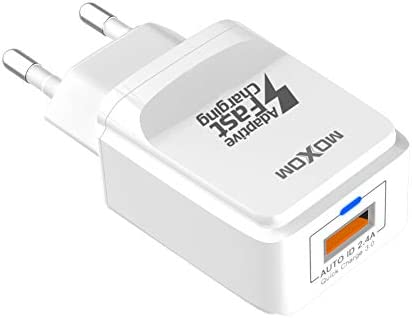 MOXOM USB C Cargador con Type C & Quick Charge 3.0 Mini USB ...