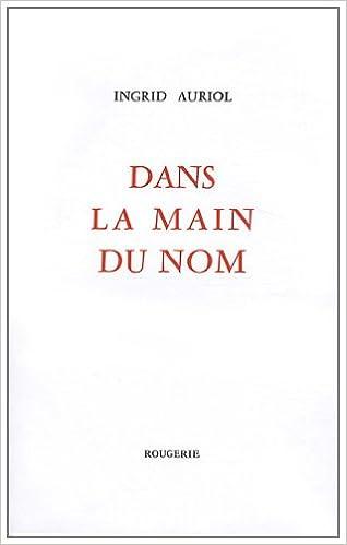 Livres Dans la main du nom epub, pdf