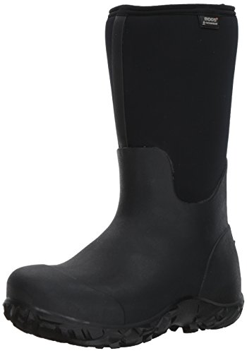Bogs Men's Workman Work Rain Boots, Black, 12 D(M) ()
