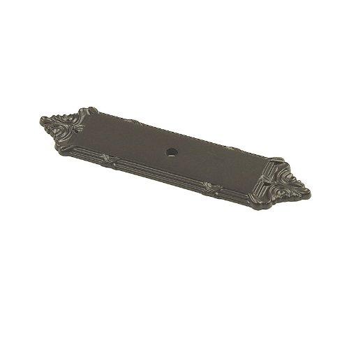 Century Hardware 16079-10B Georgian Knob Cabinet Backplate, -