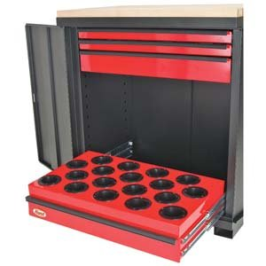 """HUOT CNC WorkStation For 100A HSK European style tooling - MODEL #: 77280 Dimensions: 39""""H X 34""""W X 22.750""""D, 77280"""