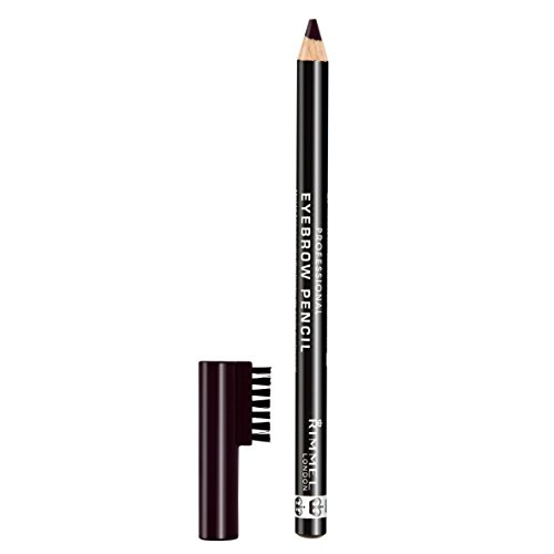 Rimmel Professional Eyebrow, Black Brown, 0.05 Ounce (Pack of 3)
