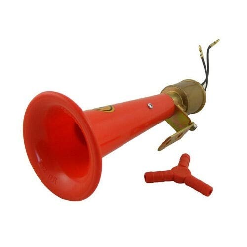 high pitched air horn 24 Volt flexzon Wolf whistle red air horn
