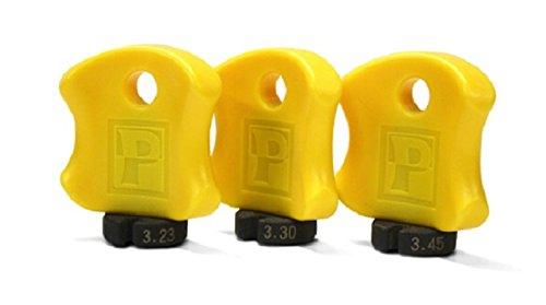 - Pedro's Pro Spoke Wrench Set Yellow, 3.23/3.30/3.45mm