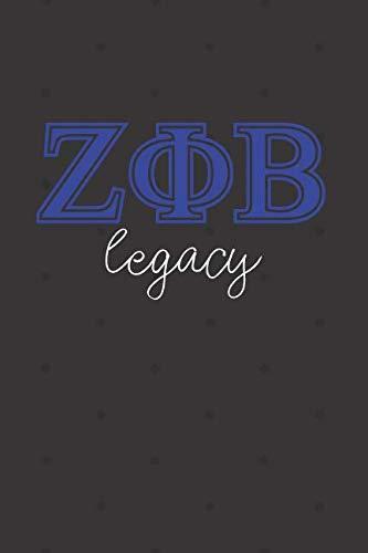 Legacy: Zeta Phi Beta Journal for a soror; sisterhood alumni or future soror