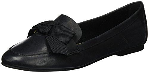ALDO Damen Rosolen Mokassin Schwarz (97 Black Leather)