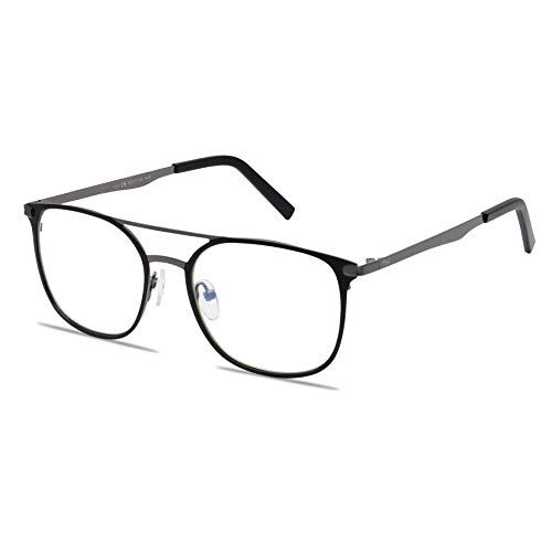 Blue Light Blocking Computer Glasses by WealthyShades-FDA Approved-Sleep Better, Reduce Eyestrain & Fatigue When Gaming, Tablet/Phone Reading, TV-Anti