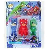 Pjmasks Pijamaskeliler Karakterleri 3 Lü Oyuncak Figür Set