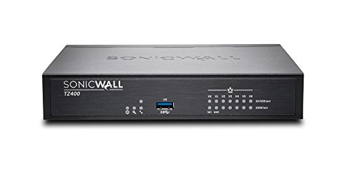SonicWALL | 01-SSC-0213 | SonicWALL TZ400 Network Security Firewall, Base Appliance (Hardware Only) by Sonicwall
