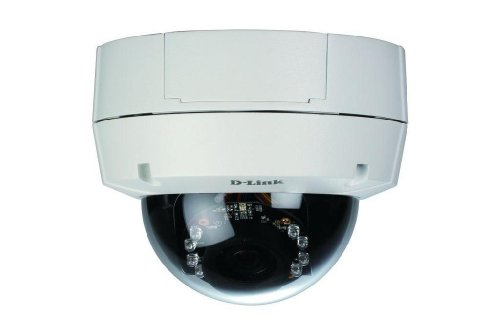 D-Link Systems DCS-6511 HD Outdoor WDR Dome Network Camera (White) (Range Dome Def High)